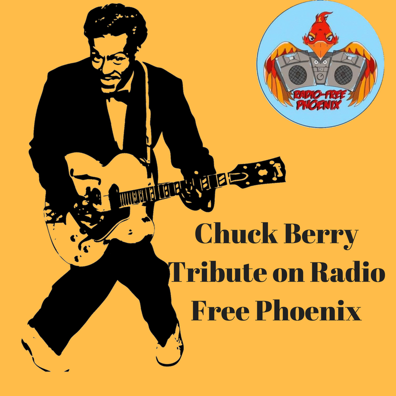 Chuck Berry Tribute on Radio Free Phoenix