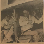 Jerusalem; here's a newspaper clip from our visit to air base with the Sinatra's. During the SINATRA CARAVAN TO JERUSALEM! Never met a camel I didn't love