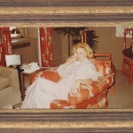 """1980 NYC apartment @ Waldorf!  Mrs. Sinatra up early and making big plans for the day. I'm making her breakfast, Constant Comment orange spice tea & her breakfast drink consisting of bran, wheat germ, honey, ice & a lil milk. 😜 Maybe we're going shopping again? That's one for you & one for me....yay!"""" POSTCARDS FROM A DREAM"""