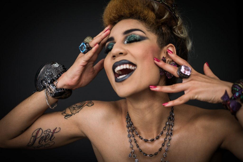 "26 year old Joy Villa, is a Grammy Considered Recording and rising star with her Billboard #1 Ranked in Rock Amazon & iTunes #1 EP EP ""I Make the Static"