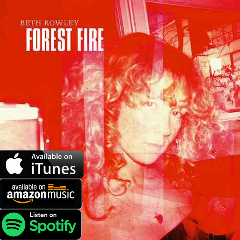 Download your copy of Beth Rowley's 'Forest Fire' available where all music is streamed and downloaded.